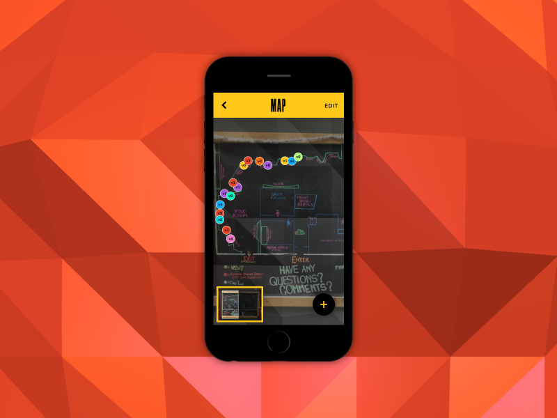 Route Selection climbing mobile ui design
