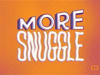More Snuggle Dribbble