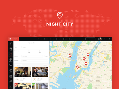 Night City reviews city directory