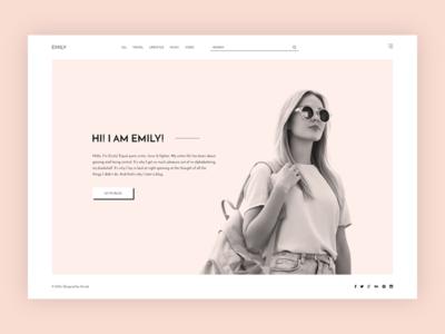 Emily - Minimal Creative Blog