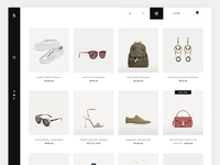 E-commerce Minimal Design