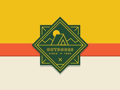 Gander Outdoors Brand Badge color inspiration rebranding design branding