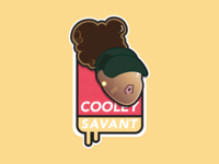 Cooley Savant - Sticker Design