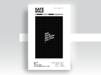 Safe Space Poster Series / #4