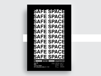 Safe Space Poster Series / #3