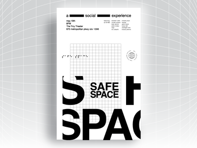 Safe Space Poster Series / #2
