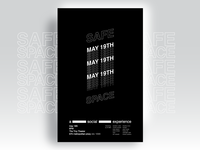 Safe Space Poster Series / #1
