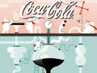 Art Direction for Coca-Cola Time's Square Billboard