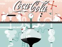 Art Direction for Coca-Cola Time's Square Billboard