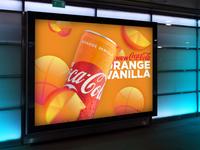 Coke Orange Vanilla at NCAA Final Four