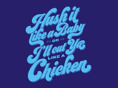 Inside Joke 1970s seventies typography lettering