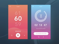 Daily UI #014 Countdown Tomer