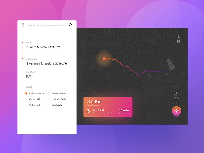 Daily UI #020 Location Tracker tracker location location tracker design ux ui dailyui daily 020