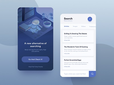 Daily UI #022 - Search design mobile app 022 ux illustration ui search daily dailyui