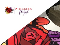 7 Degrees Floral