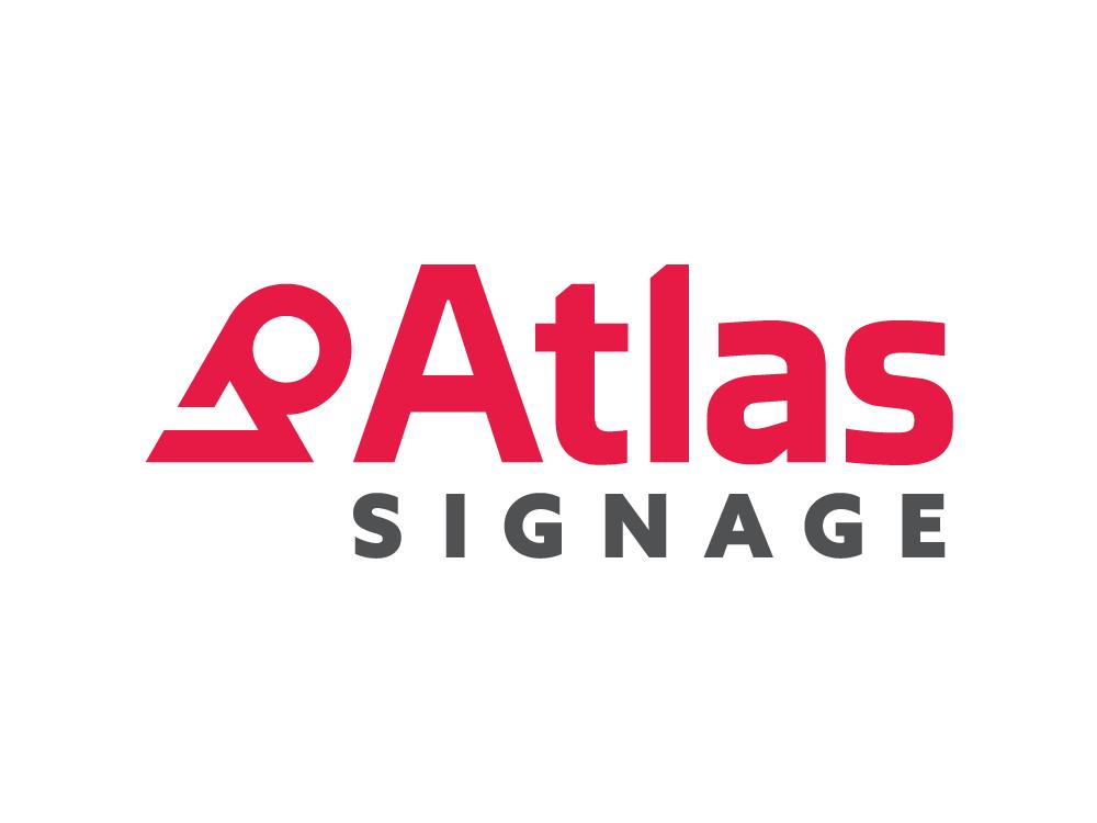 Atlas signage logo
