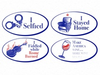 Alternate Election stickers