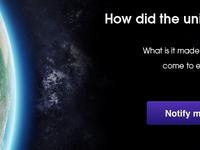 Universe Revealed - Landing Page v1