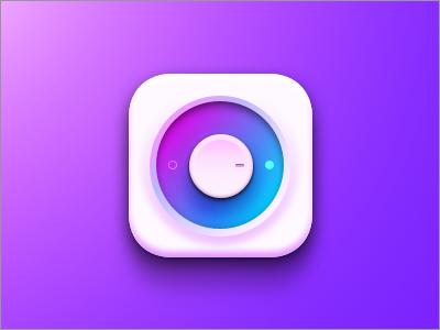 Button purple button design tutorial