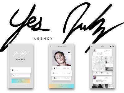 YJ - Blog/Shop Mobile App Concept
