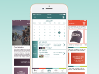App UI for local nonprofit
