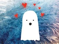Hey Boo - Ghost Valentine