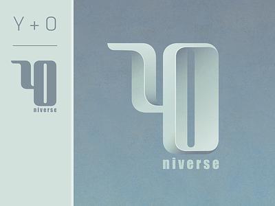 Logo YOniverse (personnal logo) brand vector logo logotype