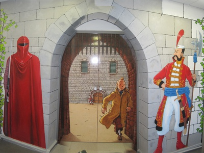 Wall Fresco (WIP : part 3)
