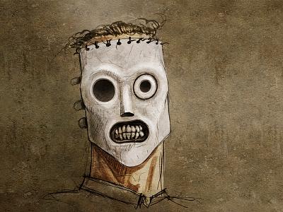 Corey Taylor slipknot coreytaylor sketch portrait