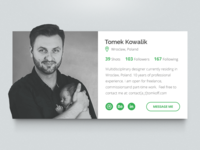 Daily UI - #006 - User Profile
