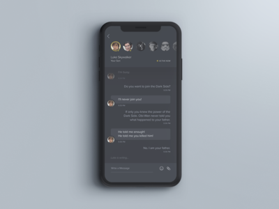 Daily UI - #013 - Direct Messaging