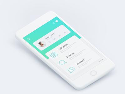 Lzf dashboard minimalist clean redesign interface user ui dashboard mobile app