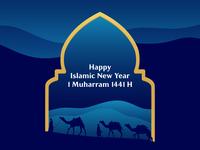 Happy Islamic New Year 1 Muharram 1441 H
