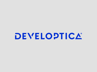 Developtica logotype perfect guide modern wordmark inspiration logo design creative logos corporate brand mark tecnology development identity branding logotype logo