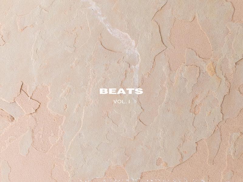 Bibi Ross Beats Vol. I pastel colours minimalism minimal graphic design digital art layout clean clean aesthetic beats artwork minimal design minimal art