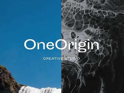 One Origin® Creative Studio studio identity studio creative studio design minimal identity design logo design