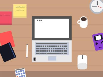 Developer Desk desk coding developer
