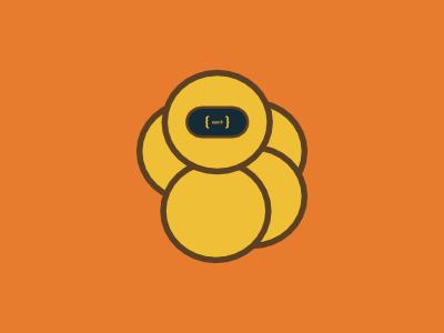 Rom 9 Bot branding mascot robot