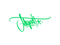 Maynah Handstyle movement graphic design graffiti tag design letters type logo aftereffects motion tag