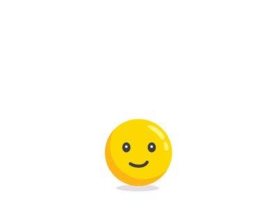 Bouncin movement design adobe emotion jump facial motion face animation expression aftereffects emoticon