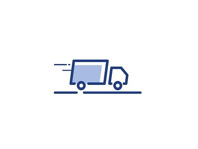 Truck branding dribbble animation designer graphic design ekont ligistics morphing animate gif move bounce brand movement after effects motion logo