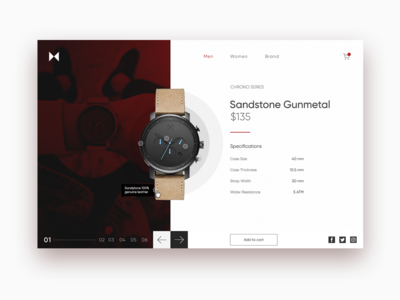 MVMT Watches ecommerce product branding mvmt watch dribbble design app product design app web ui ux