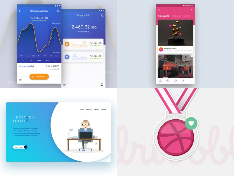 2018 motion dashboard 2018 web review rewind animation ui ux design app