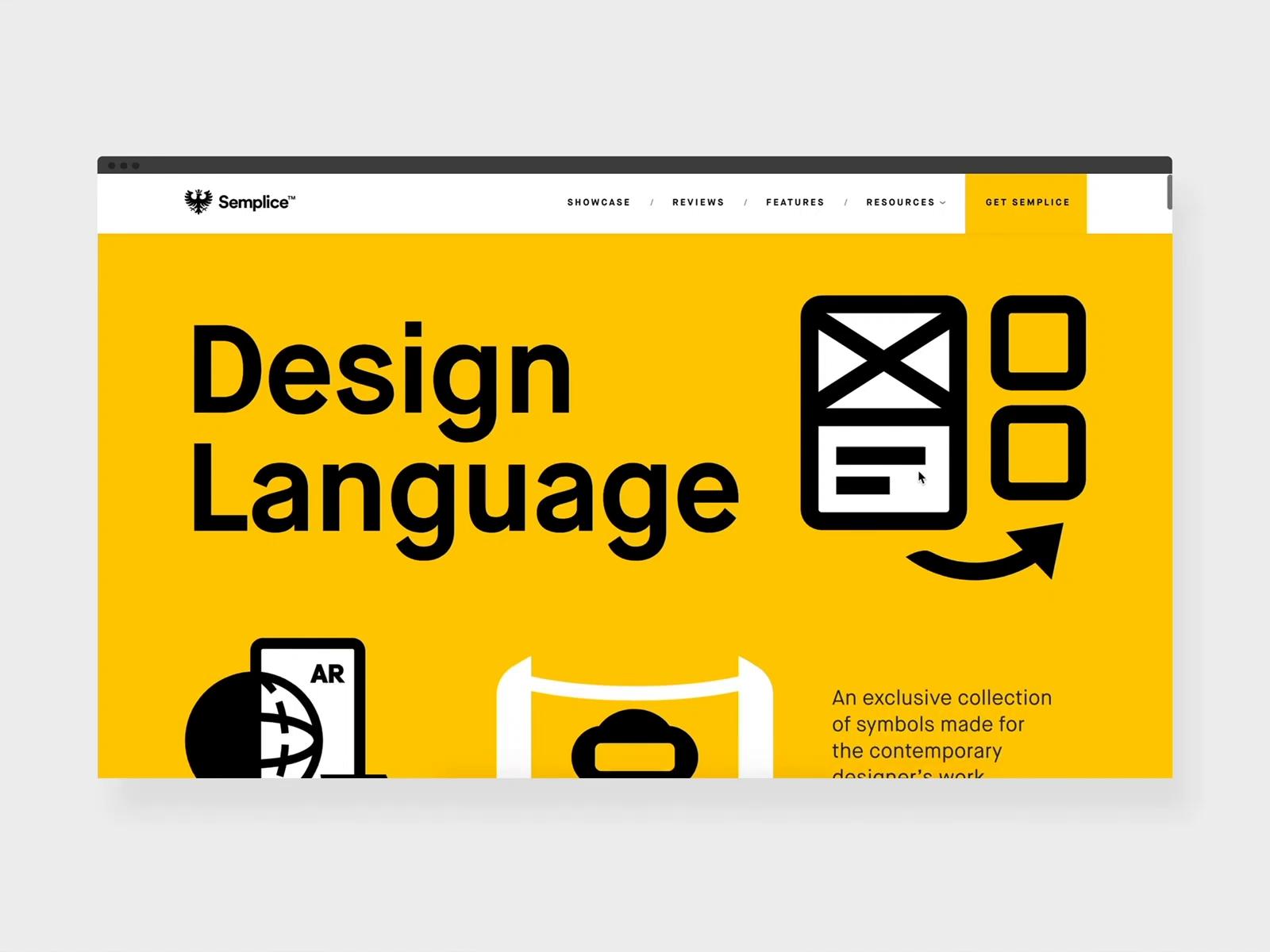 Semplice Supply — Design Language
