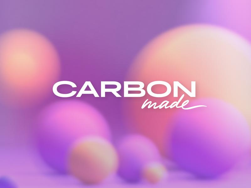 carbon dribbble carbonmade portfolio 3d branding logo
