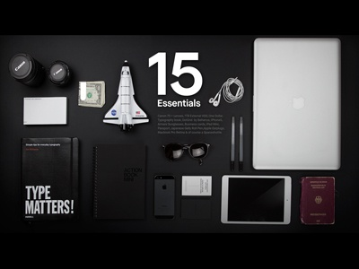 Essentials dribbble