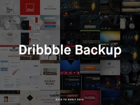 Dribbble Backup