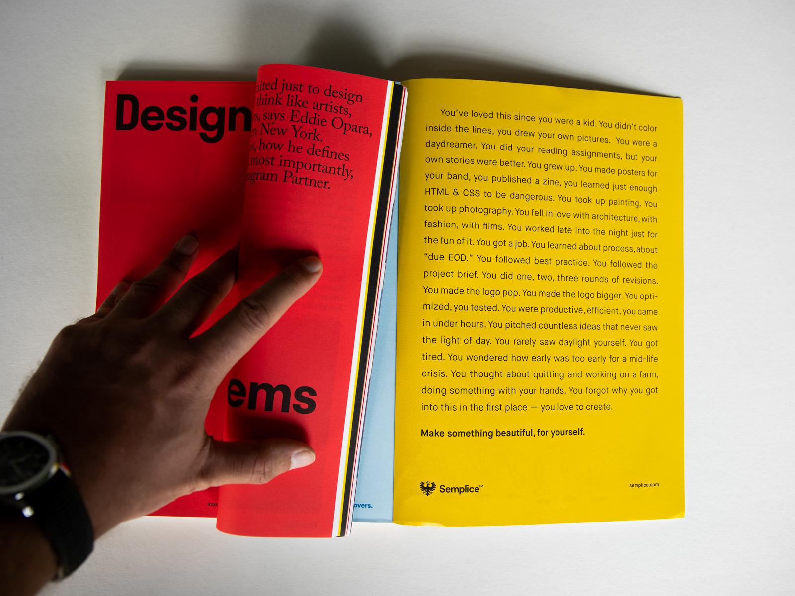 Semplice Print Ad