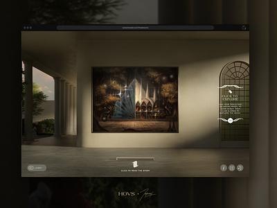 Three Rooms — Gate 1 animation design 3d