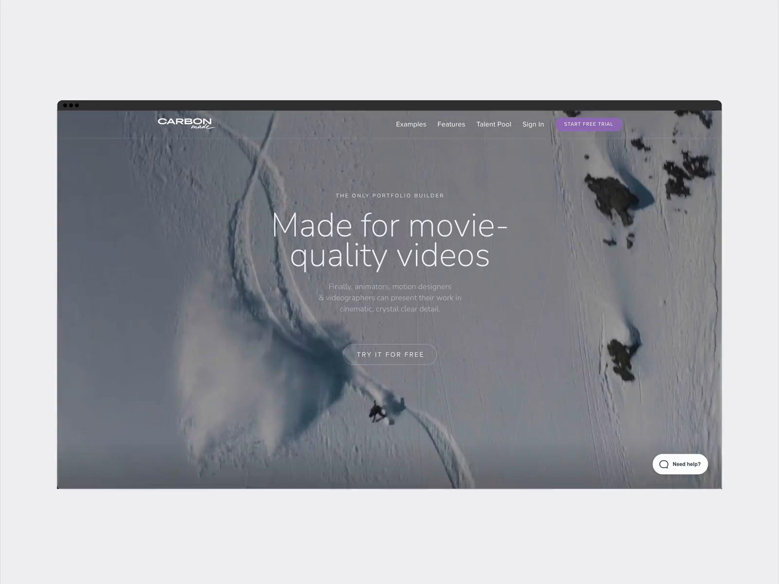 4K Video ready for your portfolio ✨